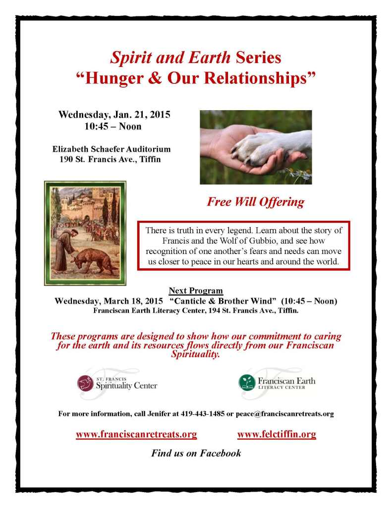 Spirit and Earth Series Flyer - Hunger & Our Relationships.docx